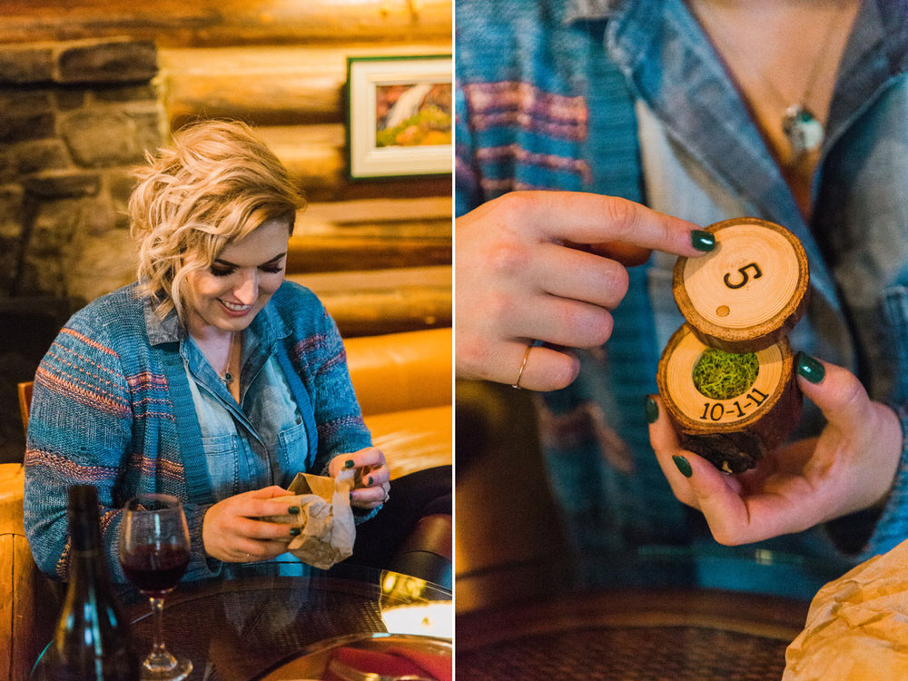 Storm Mountain Lodge Anniversary Vacation Shoot