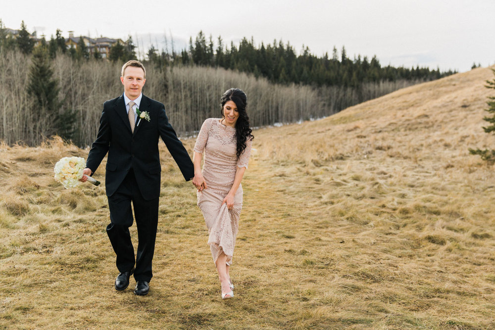 Calgary Intimate Wedding Photographer Fish Creek Guenard Photography