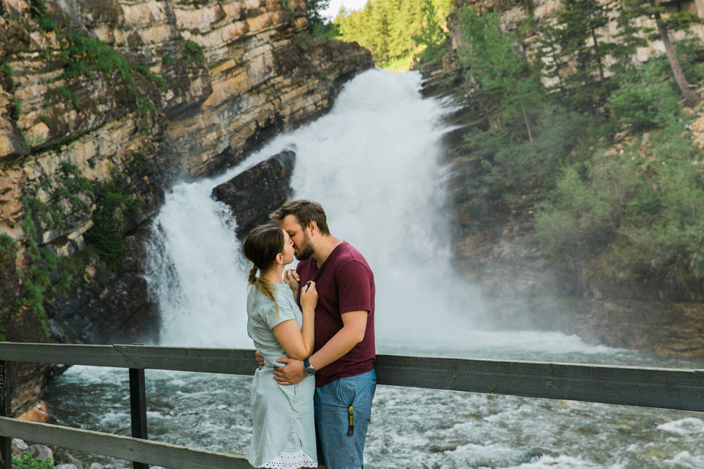 What to do in Waterton photography Jennie Guenard Cameron Falls