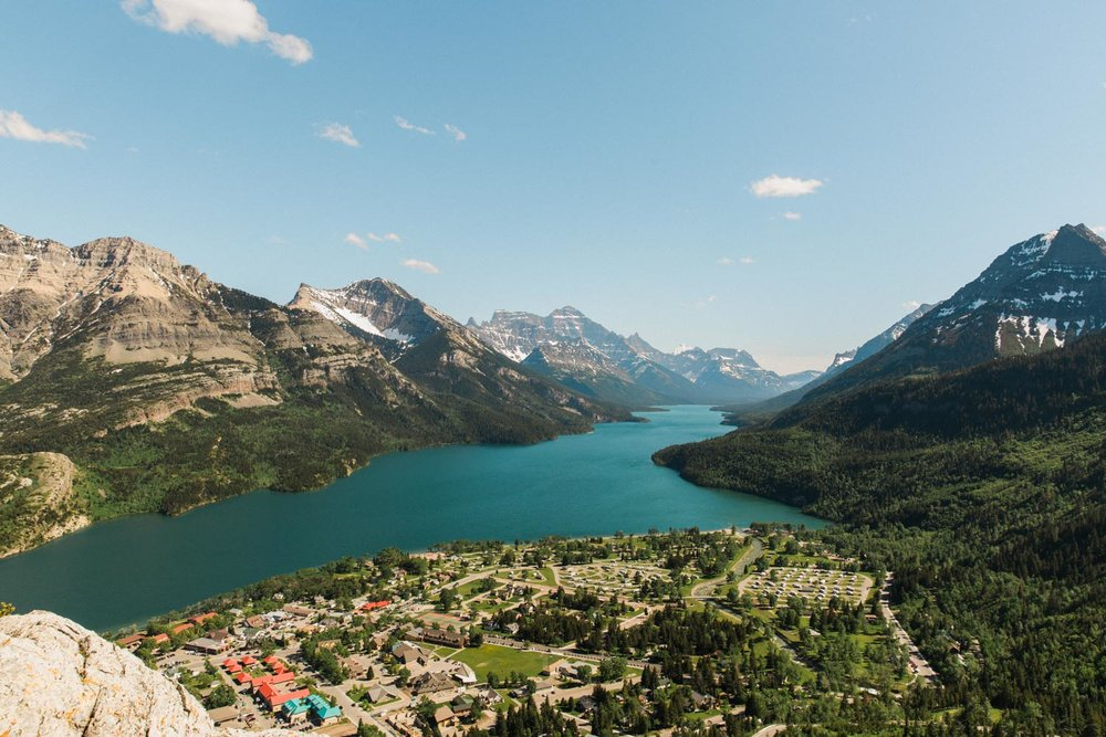 Bear's Hump Waterton Lakes Hiking Photographer Jennie Guenard Photography