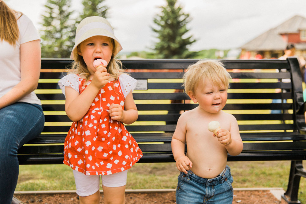 Canada Day 150 Heritage Park downtown Calgary Photographer Jennie Guenard Photography
