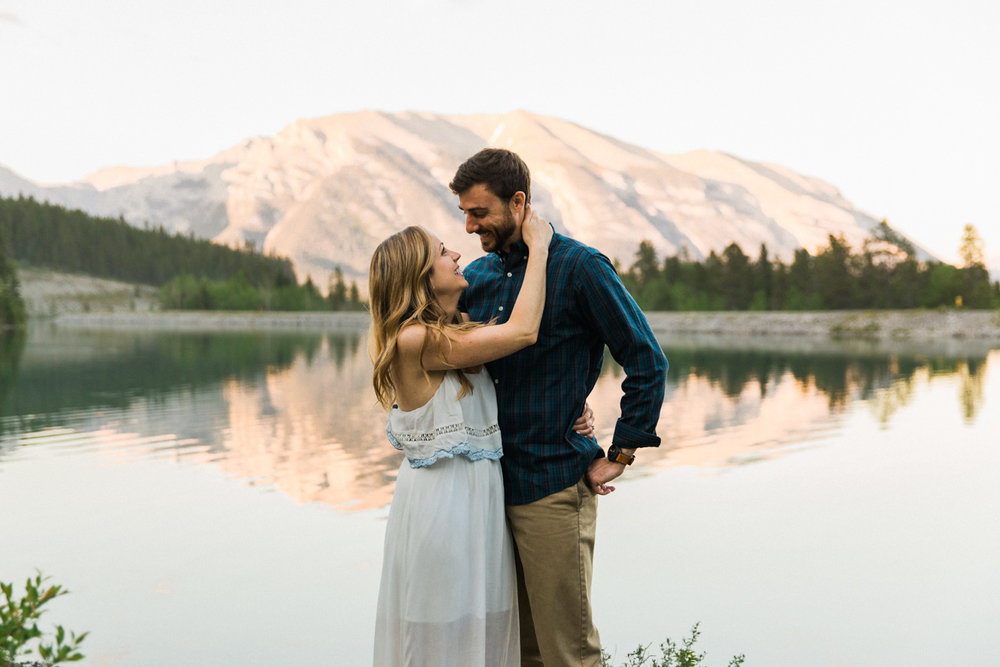 First Anniversary Shoot Canmore Photographer Jennie Guenard Photography