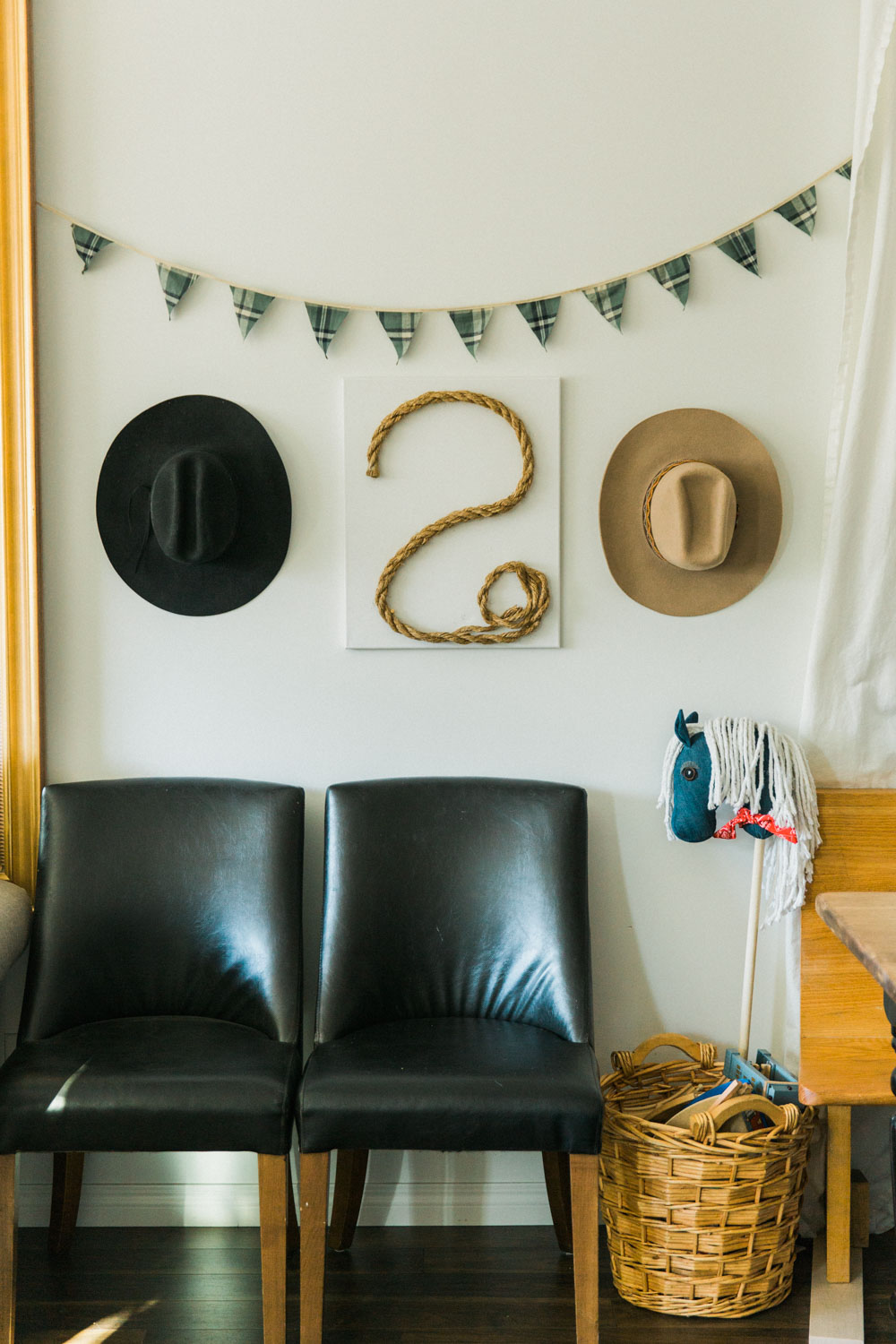 DIY Cowboy Birthday Party Decor Ideas Calgary Jennie Guenard Photography