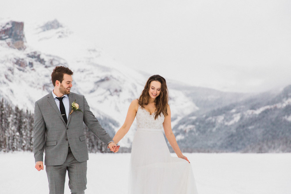 Emerald Lake Elopement Photographer British Columbia How to Elope