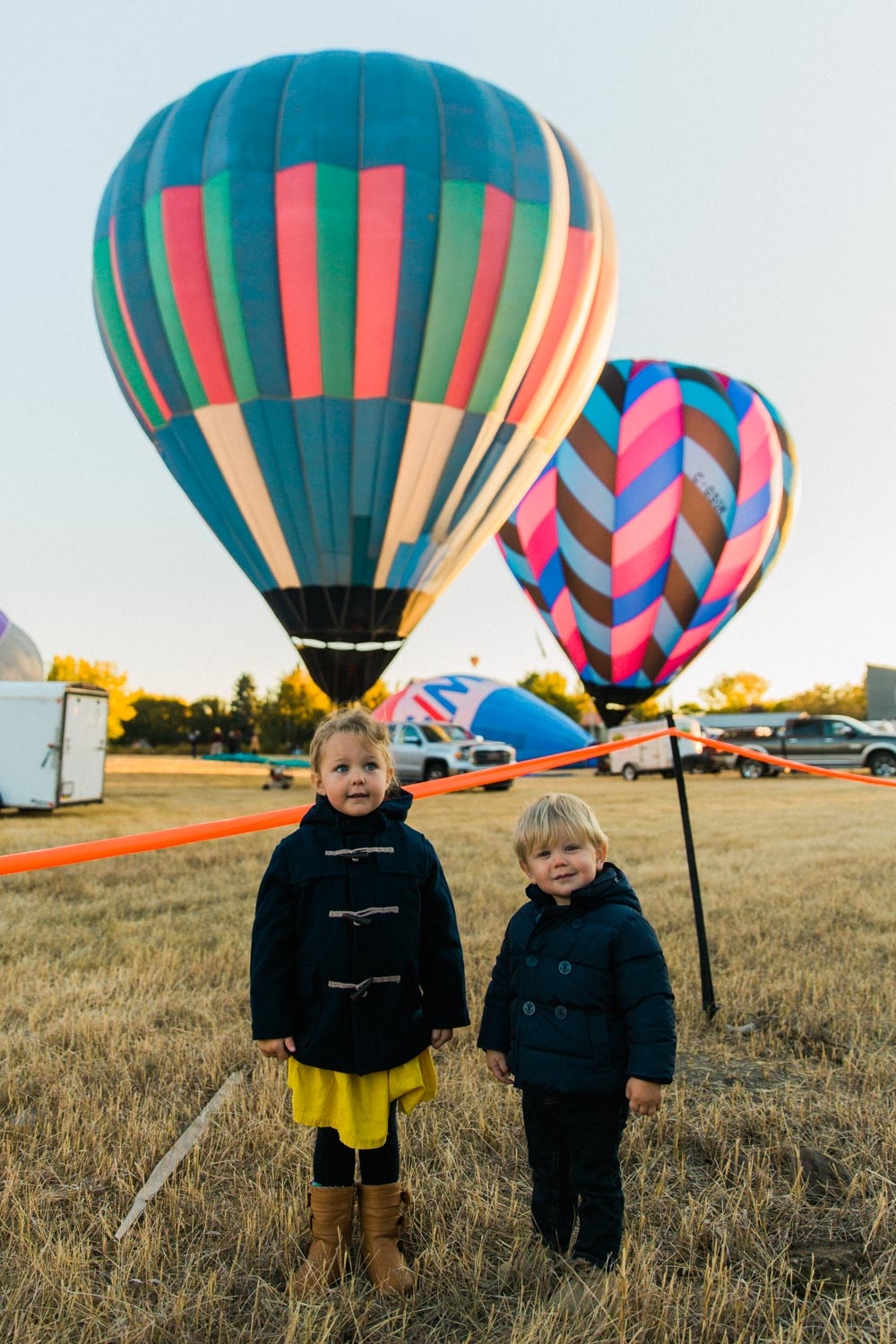Heritage Inn International Balloon Festival Glow Night High River Jennie Guenard Photography