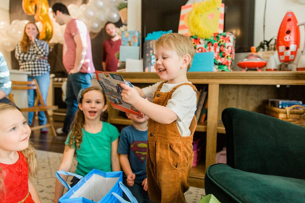 Kids Astronaut Space Party Ideas Third Birthday Calgary Photographer Jennie Guenard Photography