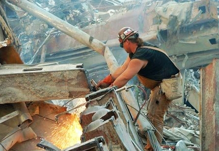 Ground Zero Ironworker 9-11 play