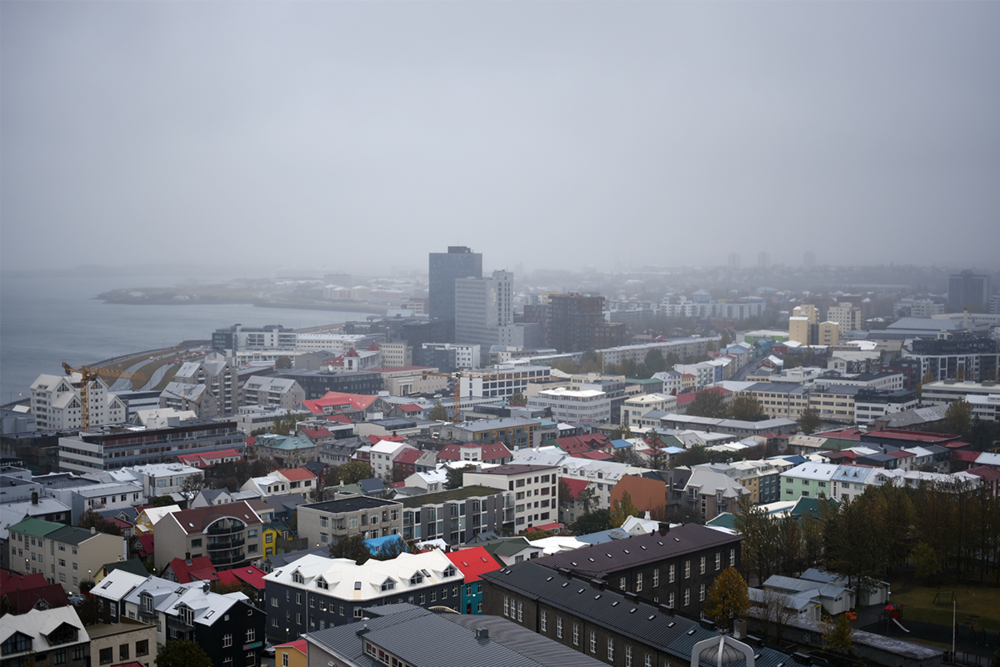 View from Hallgrimskirkja's belltower.