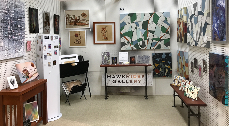 New name and location!  HawkRider Gallery  at  Vendor's Village , Terre Haute, Indiana