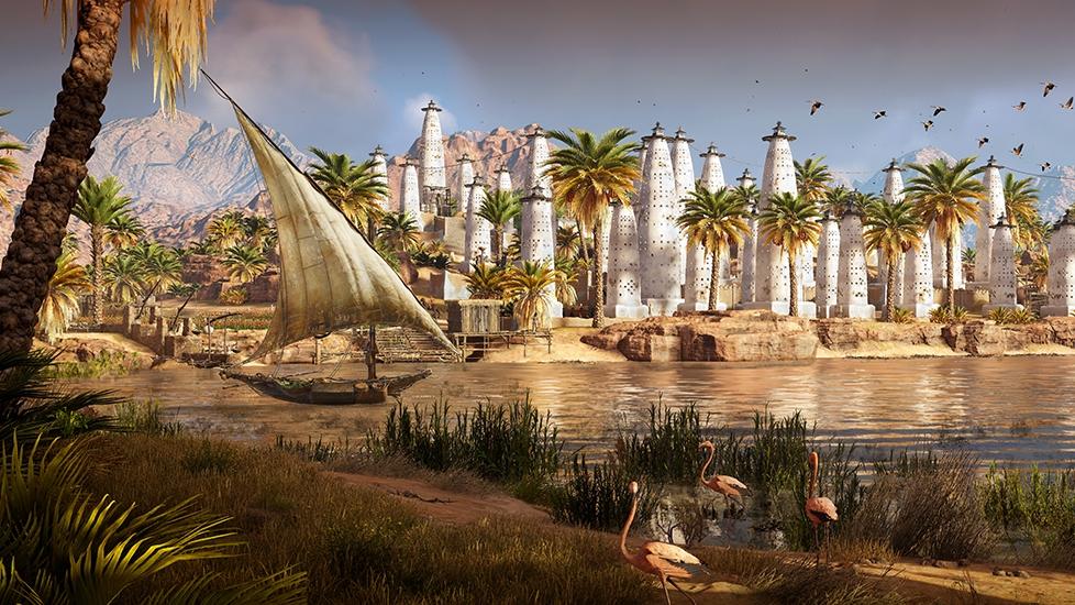 Assassin's Creed Origins (2017) -Level Art