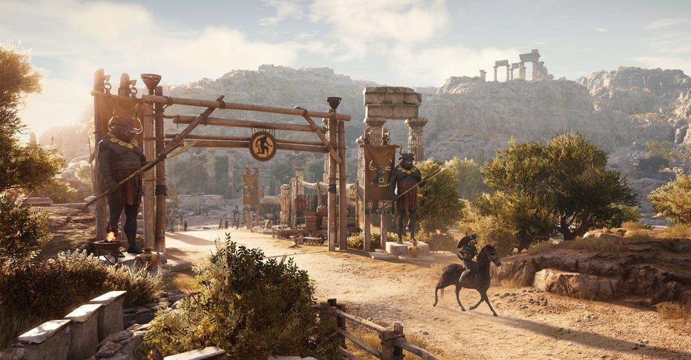Assassin's Creed Odyssey  (2018) -Level Art