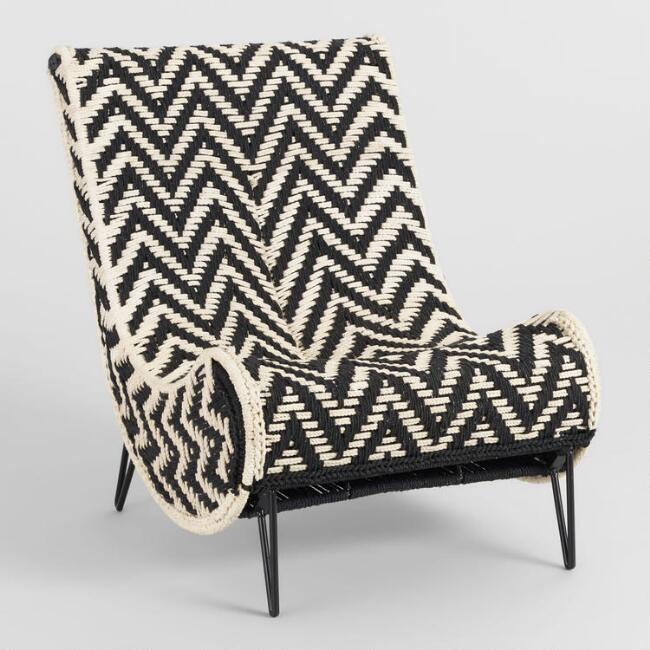 Chindi Slipper Chair
