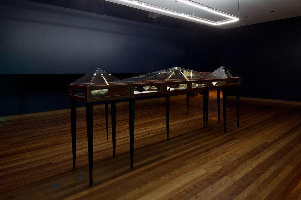Harvest , 2015. Installation view  The Ian Potter Museum of Art, The University of Melbourne.