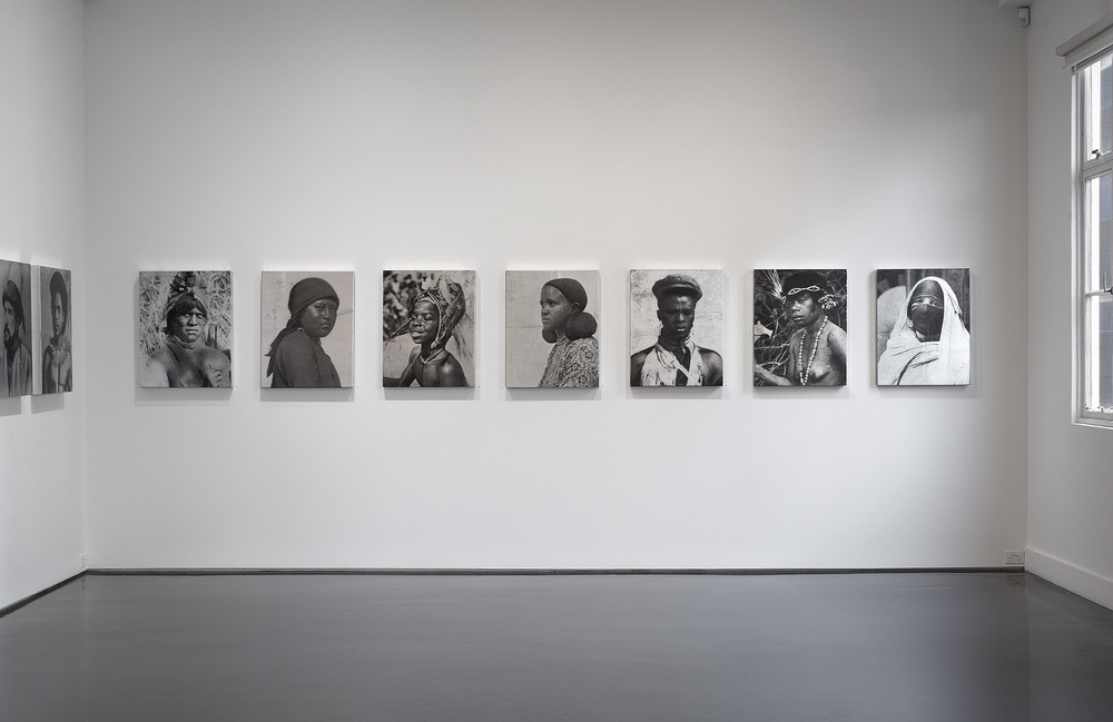 52 Portraits ,   2013 Mixed media on canvas 70 x 55 x 5 cm / 27,5 x 21,6 x 2 in Installation view. Tolarno Galleries, Melbourne