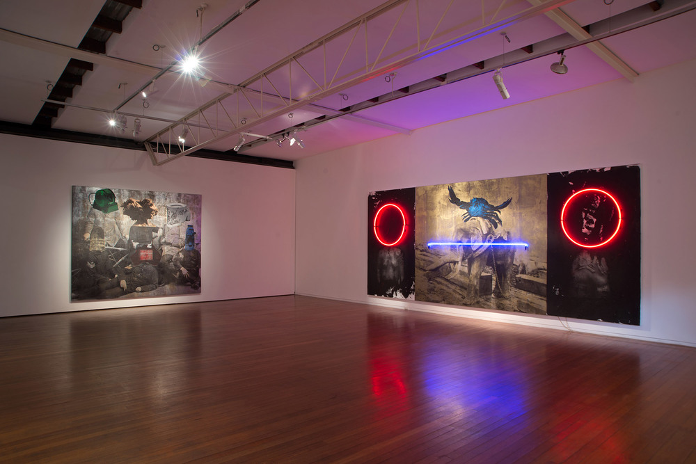 Space & Time   Roslyn Oxley9 Gallery, Sydney  3 June – 2 July, 2016 Installation view. Roslyn Oxley9 Gallery, Sydney.