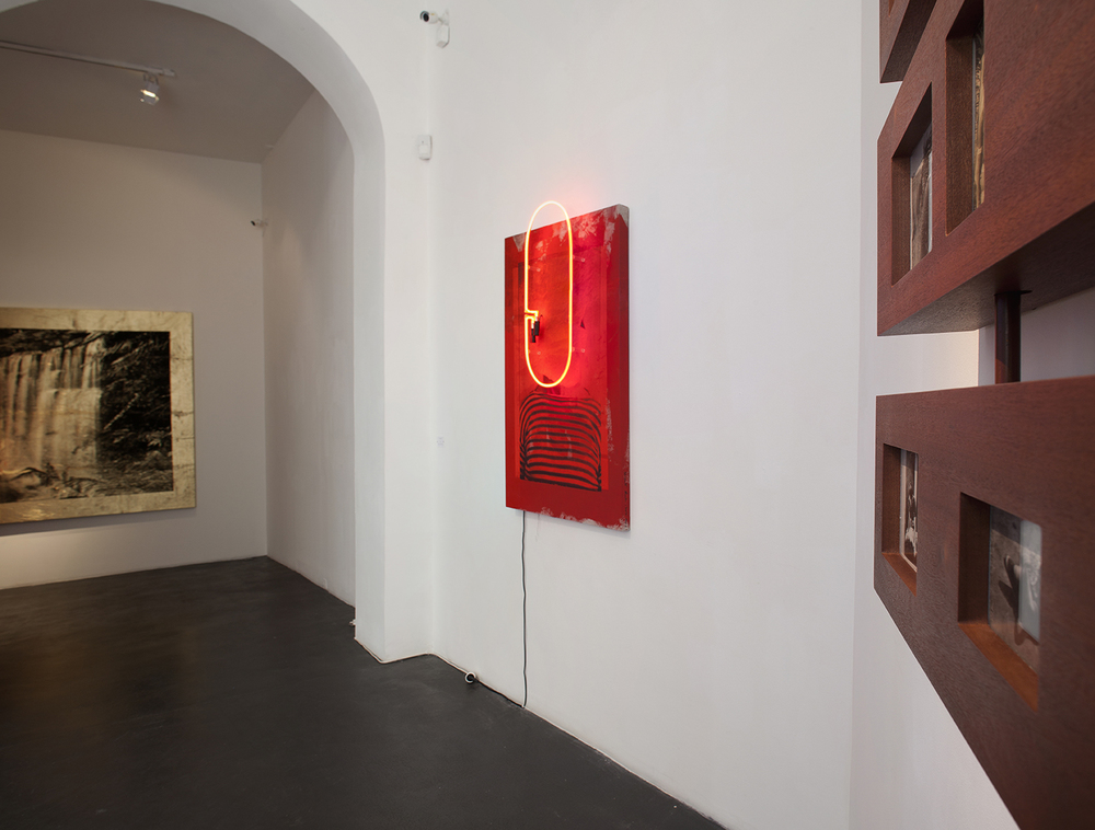The Forest   May 28 – July 23, 2016  nstallation view, Galerie Natalie Obadia,Cloître Saint-Merri, Paris