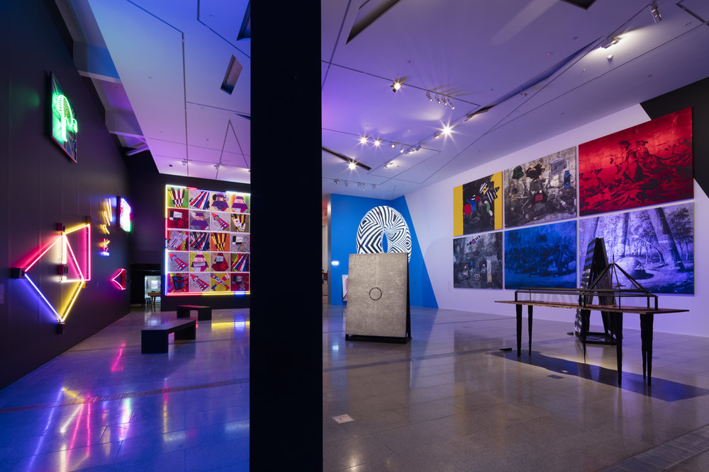 The Right to Offend is Sacred  National Gallery of Victoria, Melbourne March 3 – June 4, 2017 Installation view. Photo: Dianna Snape.