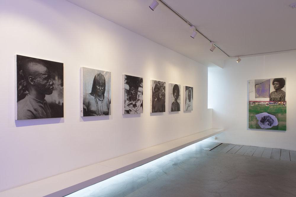 Assemblage,  2017 February 2 –April, 2017 Galerie Nathalie Obadia, Brussels  Installation view Galerie Nathalie Obadia, Brussels.