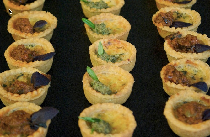 Vegetarian canapes from Penelope Evans caterer.jpg