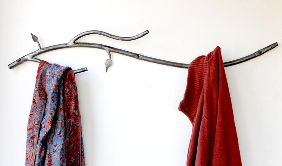 Custom Branch Coat Hanger, Hand Made in Maine