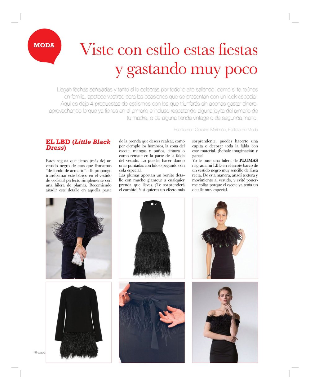 Wapa Magazine 51 – HOW TO LOOK STUNNING FOR CHRISTMAS PARTIES WITH NO BUDGET   (Winter 2015)