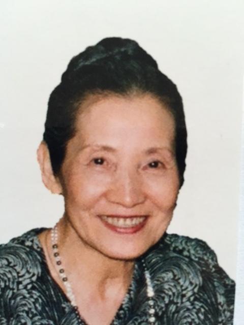 1934年生まれ 久子・テレーズ・カニングハム先生