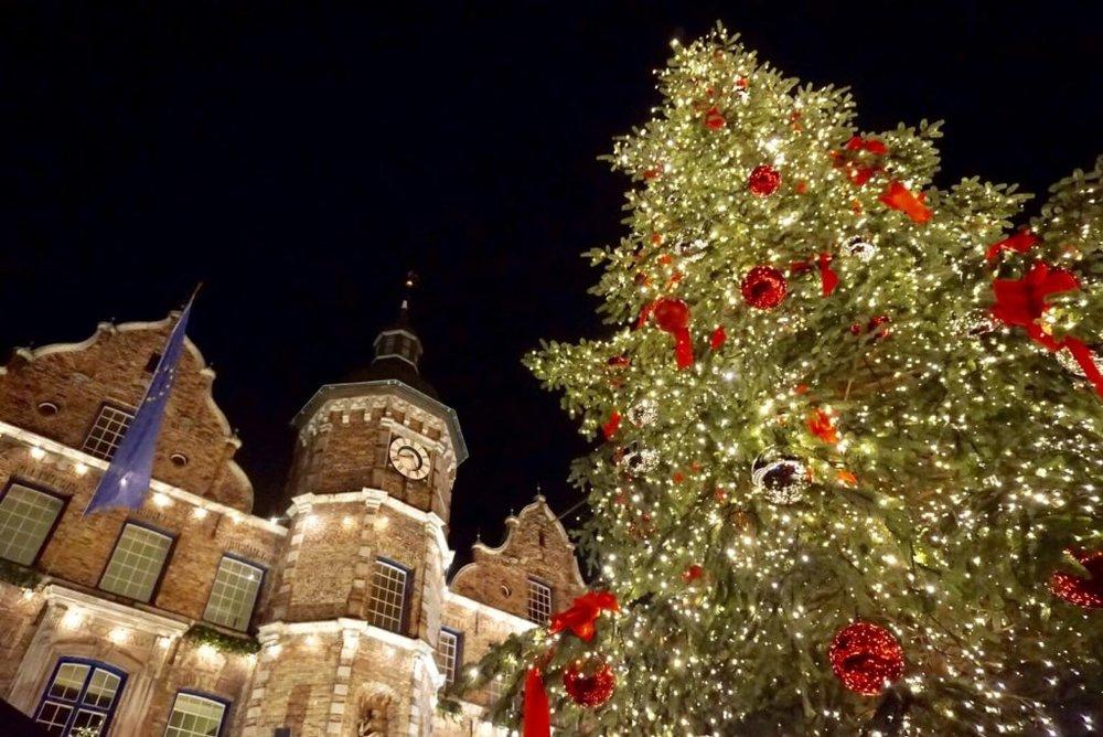 初めて訪れたデュッセルドルフのクリスマスマーケット!