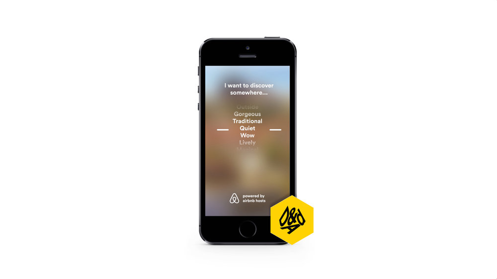 D&AD New Blood winner - airbnb torch
