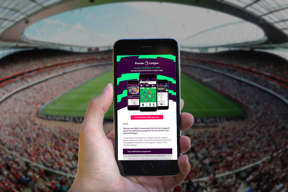 FANTASY PREMIER LEAGUE APP LAUNCH