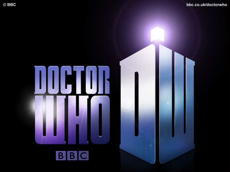 The New Doctor Who Logo for the Matt Smith Doctor