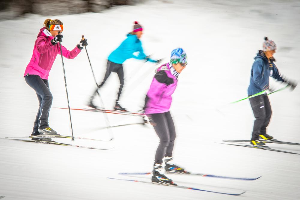 Skate Skiing!