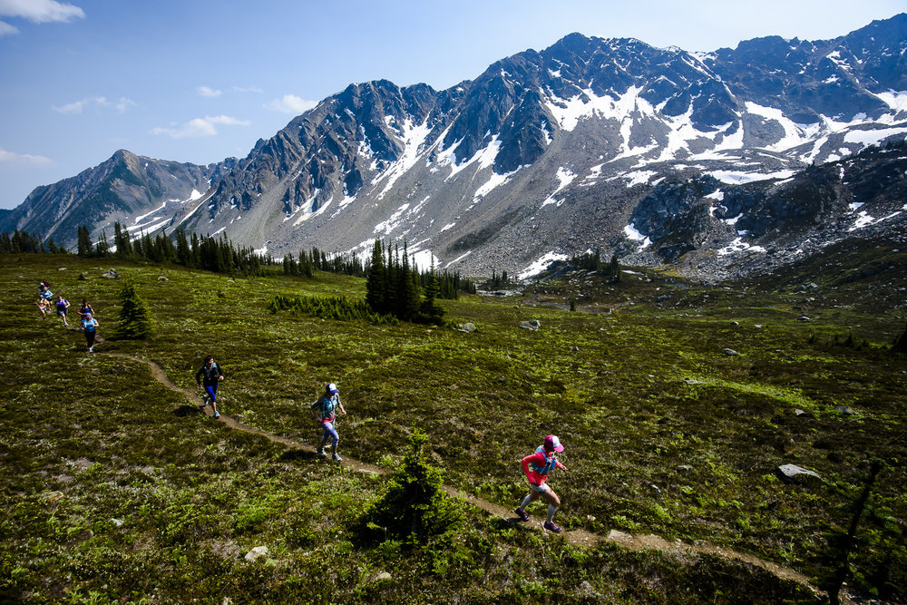 Esplanade Traverse    Hut-to-Hut Trail Running Camp  July 22-27, July 30-August 3, and August 26-31, 2018  Golden, BC