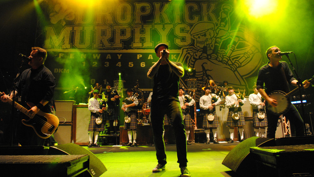 Irish folk music from Hell: Dropkick Murphys!