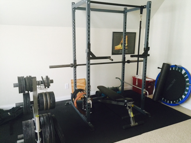 My current home gym setup!