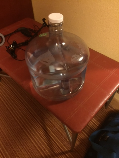 My 3 Gallon Water Jug