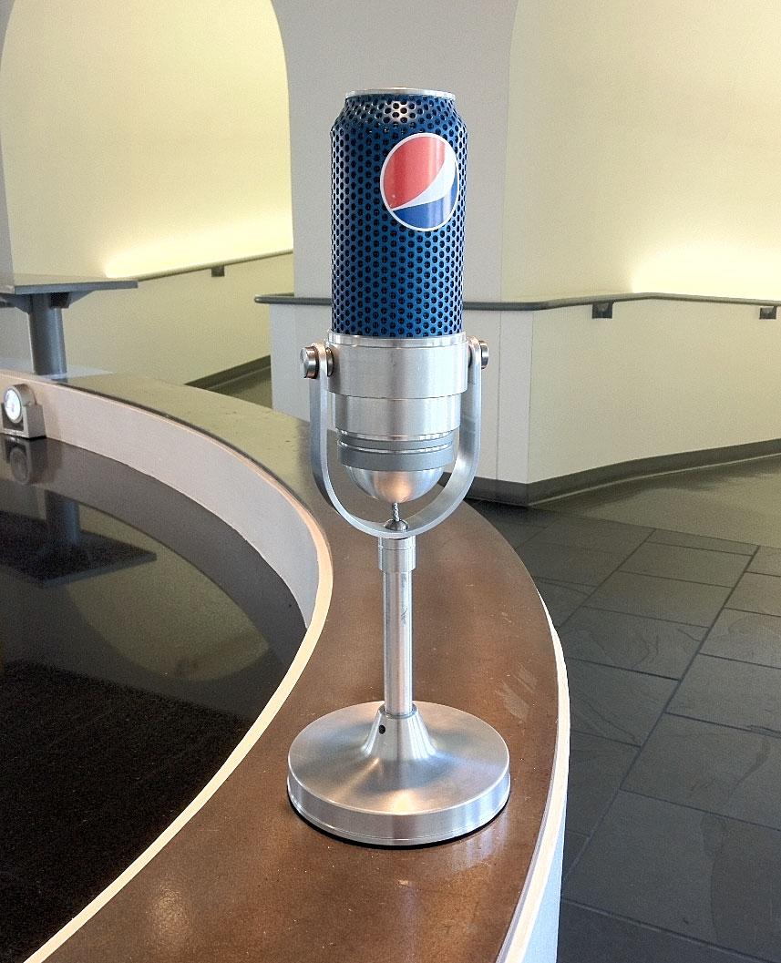 PEPSI: Can Microphone