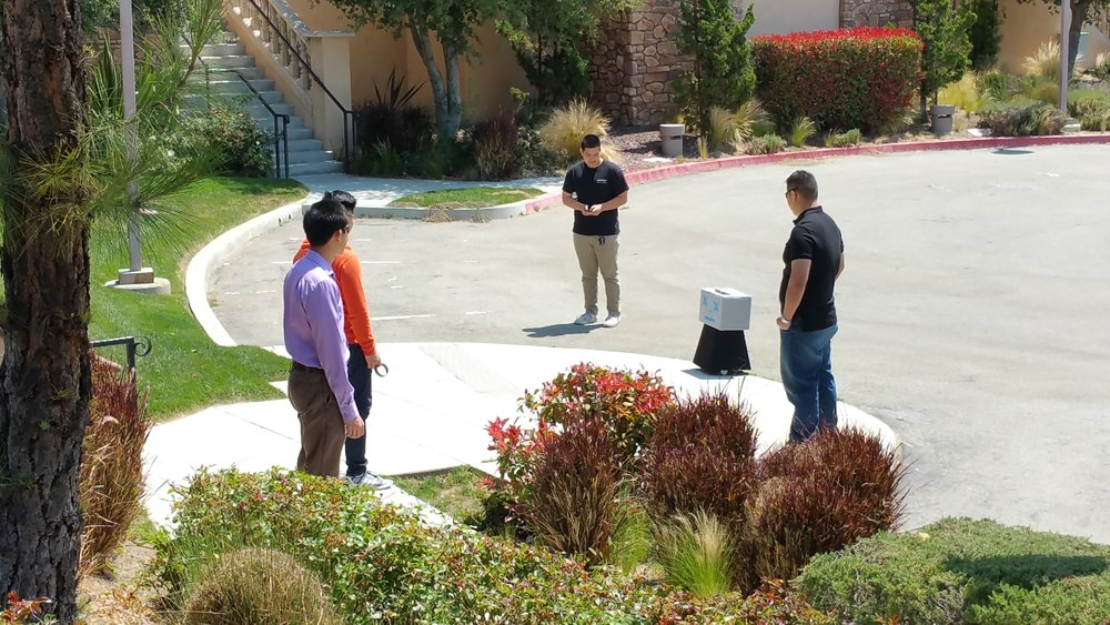 J-IIFE test run on location with groomsmen / tech team.