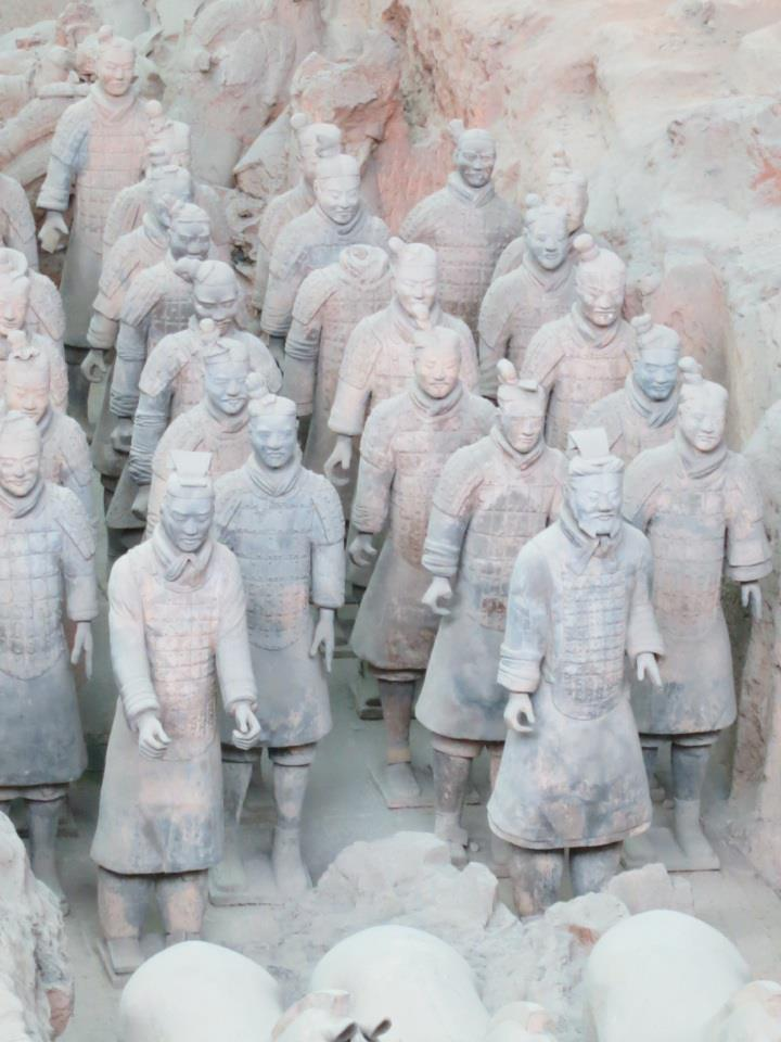 Xian-Terracotta Warriors-Caitlin Michelle