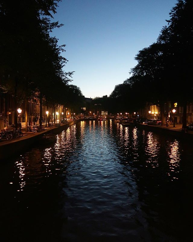Evening walks in #amsterdam