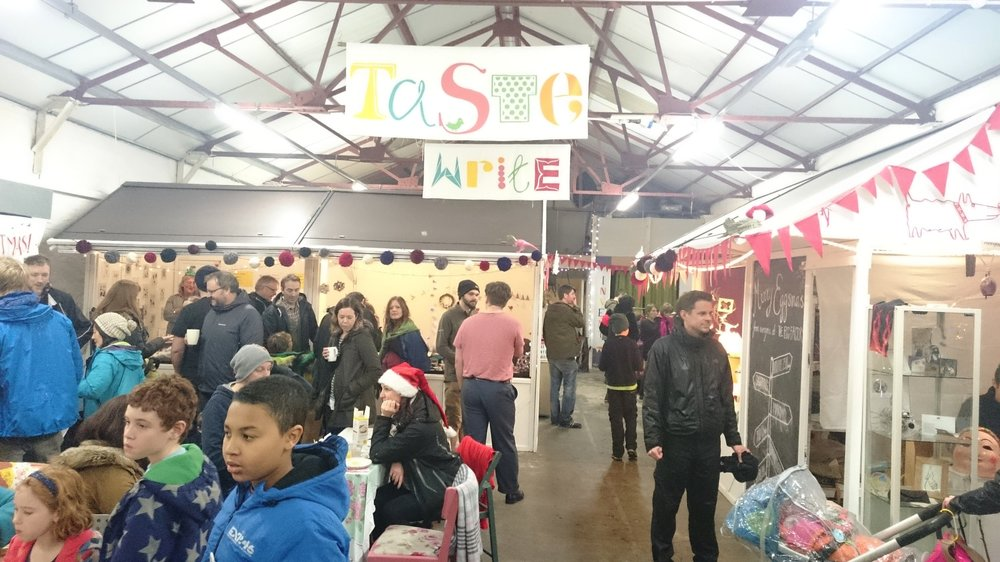 The Egg Factory, Eggsmas Christmas Fair