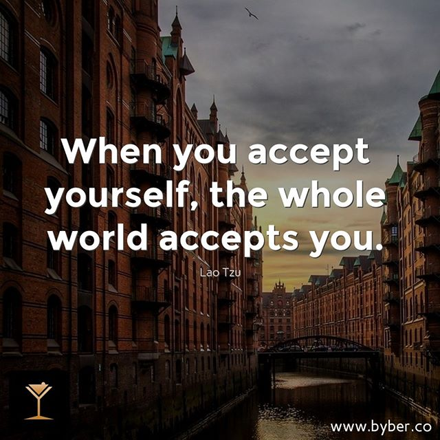 Accept - then act. Whatever the present moment contains, accept it as if you had chosen it. Always work with it, not against it.  #meet #connect #explore #byberapp