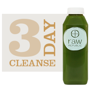 Check out Raw Republic's website to find out more about how to give the gift of one of their delicious juice cleanses.