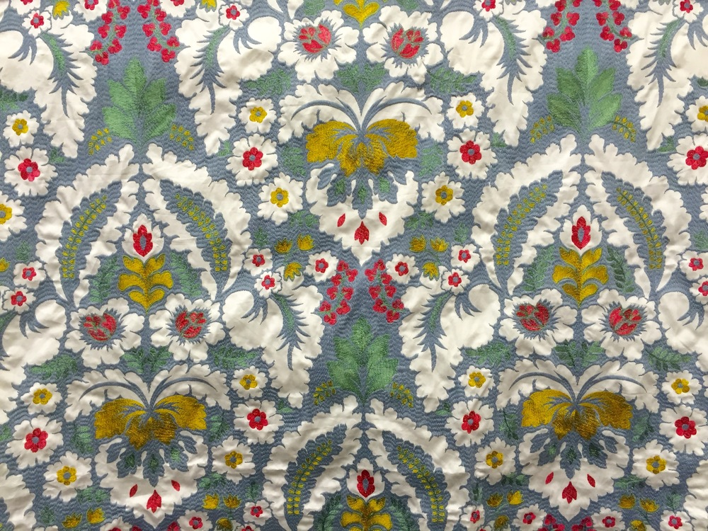 Silk Embroidery Best of Boston Fabrics