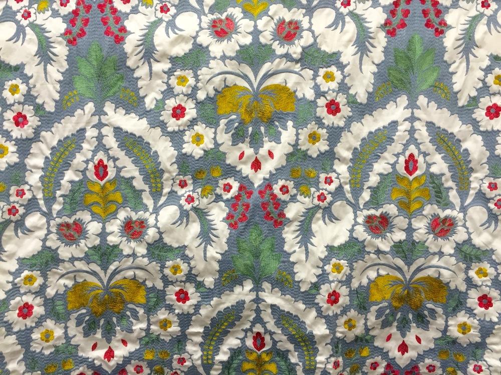 Silk Embroidery Best of Boston Fabrics