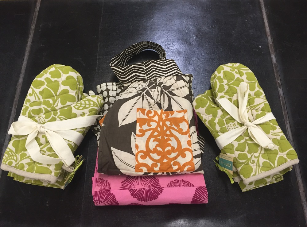 Oven Mitts and Aprons