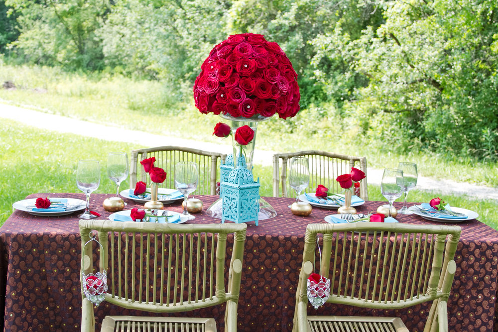 Tabletop Design & Florals: navjot Design