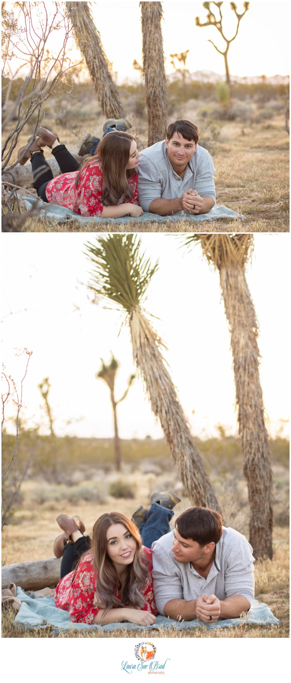 Couples Session, Joshua Tree.    Laura Sue Brod Photography - 2016  www.laurasuebrod.com