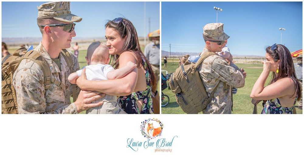 Military Homecoming Session, California. Laura Sue Brod Photography - 2016  www.laurasuebrod.com
