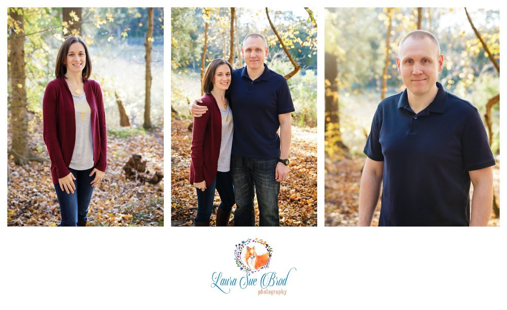 Fall family session at golden hour in Chesapeake, VA.   Laura Sue Brod Photography - 2016  www.laurasuebrod.com