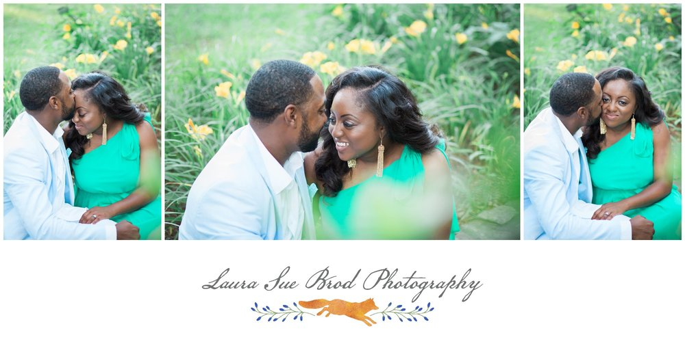 Southern summer park engagement session in Virginia Beach. © 2017 Laura Sue Brod Photography www.laurasuebrod.com